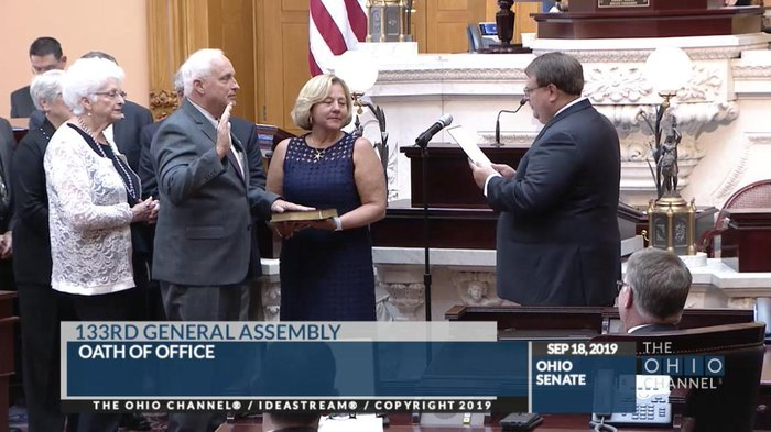 Terry Johnson DO is appointed to the Ohio Senate